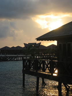 Sunset at Mabul
