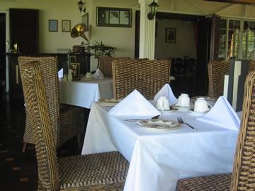 Inside the English Tea House