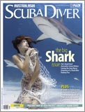 Scuba Diver AustralAsia Shark cover