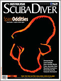 Scuba Diver AustralAsia Space Oddities cover