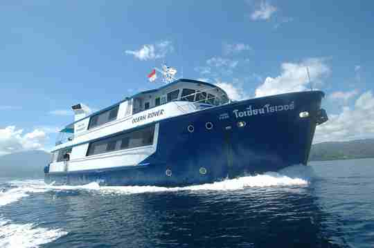 Raja Ampat Aggressor Review (formerly Ocean Rover Liveaboard)
