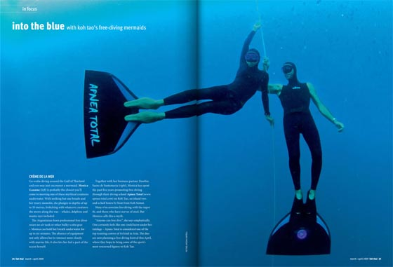 Freediving in Thailand – Apnea Total