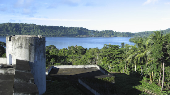 View From Fort Belgica On Banda Naira Island