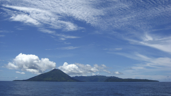 The Banda Islands Above Water