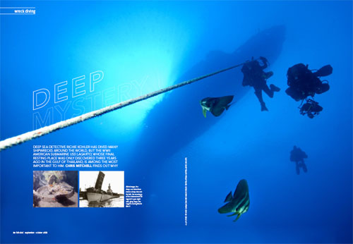 Deep Mystery - USS Lagarto in Fah Thai Magazine