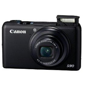 Canon Powershot S90 Camera and WP-DC35 Underwater Housing