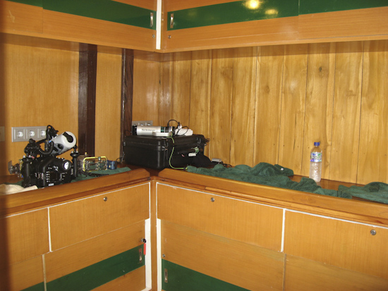 Tambora Liveaboard Camera Room