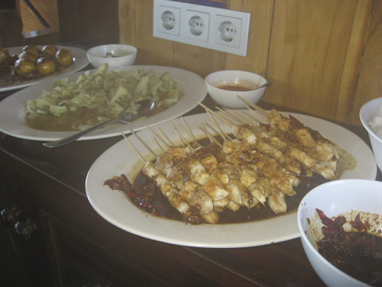 Lunch On Tambora Liveaboard