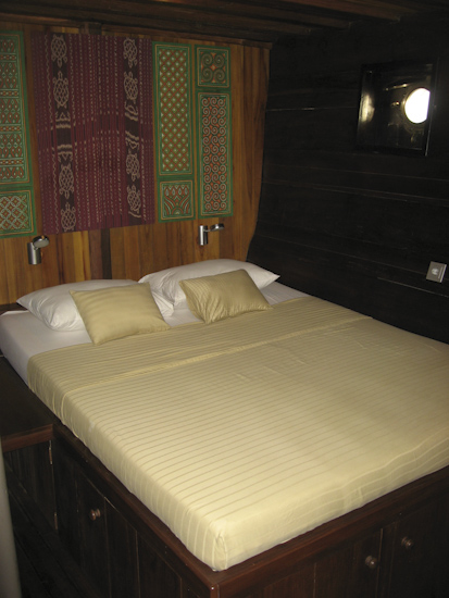 Tambora Liveaboard Double Bed Cabin